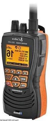 Vhf Cobra marine Mr Hh 600 GPS BT UK Black Brand 29.661.07