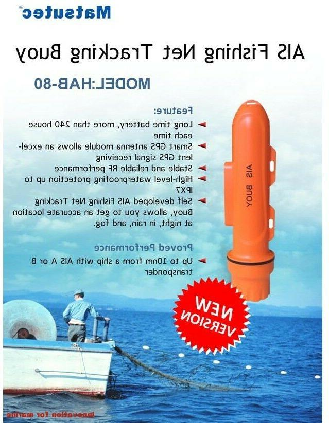 Waterproof B AIS Beacon Fishing Net Tracking