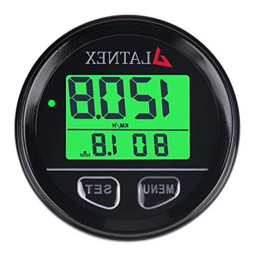 waterproof gps speedometer backlight