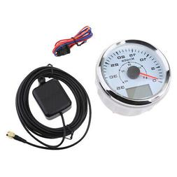 LED Waterproof Nautical Marine Digital GPS Speedometer 0-40