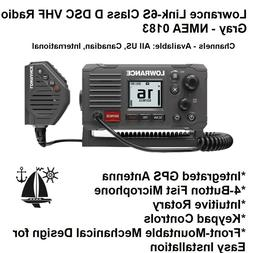 Lowrance Link-6S Class D DSC VHF Radio With Integrated GPS A
