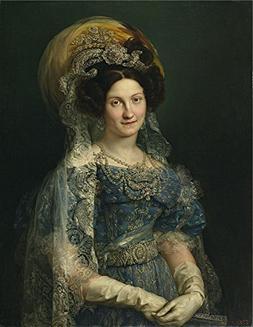 'Lopez Portana Vicente Maria Cristina De Borbon Reina De Esp