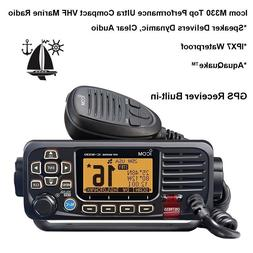Icom M330 GPS Receiver Built-in VHF Marine Radio: Quality &