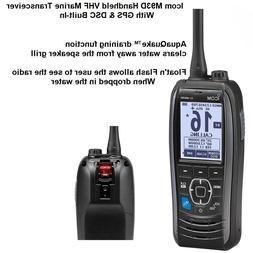 Icom M93D Handheld VHF Marine Transceiver + GPS & DSC Built-