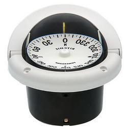 Ritchie Marine HF-742 Helmsman Flush Mount Boat Compass Whit