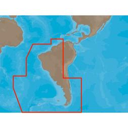 C-MAP MAX SA-M501 - Gulf of Paria - Cape Horn - SD Card