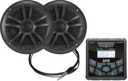 Boss Audio MCKGB450B.6 Marine Package - Bluetooth® In-Dash
