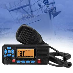 Mini VHF IPX7 Marine Boat Two-way Ham Mobile Radio Walkie Ta