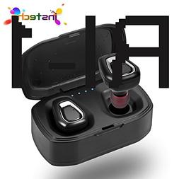 Mini Wireless Earphones with Portable Charging Case 700mAh,