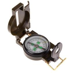 MM-Outdoor-USA BackPacking  Army Green Folding Lens Compass