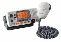 COBRA MR F77BGPS WHITE MARINE BAND MOBILE VHF RADIO 25WATT B