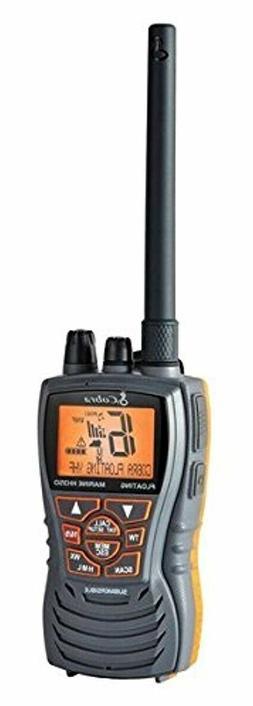 Cobra MRHH350FLT Floating VHF Long Range Marine Radio, Tri-W