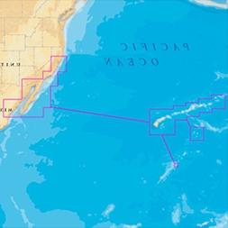 Navionics MSD/644P+ Platinum + Hawaii California South to Ba