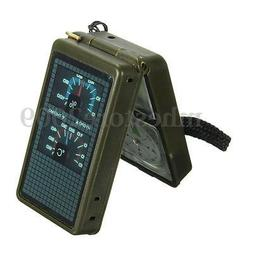 Multifunction 10 in 1 Outdoor Military Camping Hiking Surviv