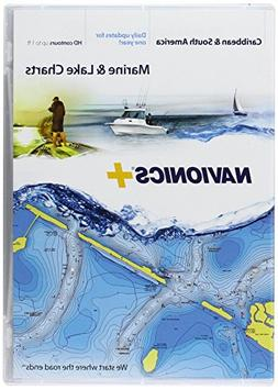Navionics Caribbean & S. America, CF Card Nautical Chart on