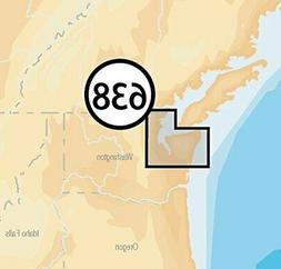 Navionics Platinum+ SD 638 Puget Sound Nautical Chart on SD/