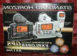 NEW STANDARD HORIZON MARINE TRANSCEIVER EXPLORER GPS GX1700