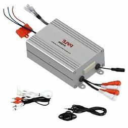 Pyle 4-Channel Marine Amplifier Receiver - Waterproof and We