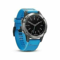 Garmin Quatix 5 Marine MultiSport GPS Smartwatch Blue Silico