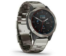 Garmin Quatix 6 Sapphire Titanium Gray Smartwatch Marine GPS