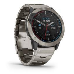 Garmin Quatix 6x Solar Titanium 51mm Smartwatch GPS Marine W