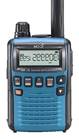 Icom R6 Sport Wide Band Handheld Communications Receiver, Re
