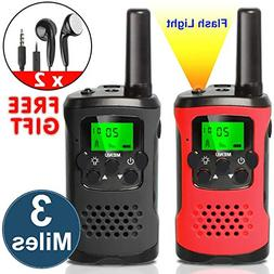 AMENON Walkie Talkies for Kids, 22 Channels Two Way Radio 3