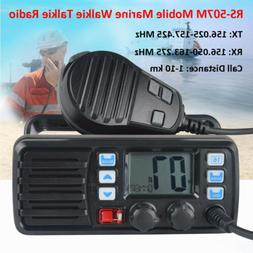 RS-507M Mobile Marine Boat Radio VHF Weather Channel GPS Rec