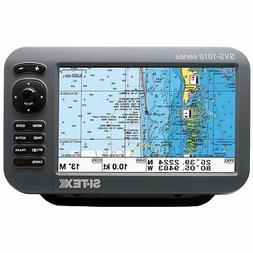 """SI-TEX SVS-1010CE Chartplotter 10"""" w/ External GPS Antenna &"""