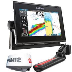 Simrad GO9 XSE Chartplotter/Fishfinder w/TotalScan Transduce