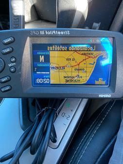 Garmin StreetPilot III Color GPS 3 Chart Plotter Marine Auto