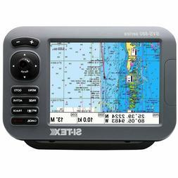"""NEW SI-TEX SVS-880C SITEX 8"""" CHARTPLOTTER SYSTEM W/ INTERNAL"""