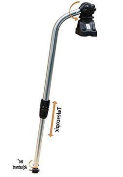 BroCraft Transducer Mounting Arm with Deck Mount/Kayak Fish