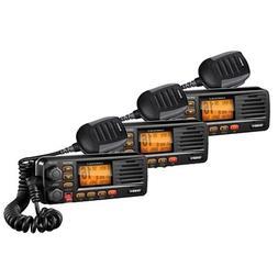 Uniden UM380BK Portable 5W JIS8/CFR46 Waterproof Two Way VHF