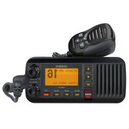 Uniden UM435 Fixed Mount VHF Radio - Black UM435BK