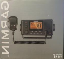 GARMIN VHF 215 AIS MARINE RADIO. NEW IN ORIGINAL PACKAGING
