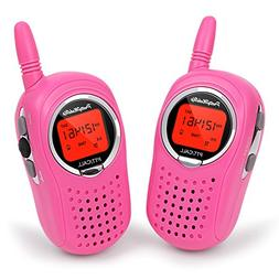 Walkie Talkies for Kids, 22 Channel FRS/GMRS Walkie Talkie 2