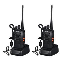 START Walkie Talkies Long Range Two-Way Radios with Earpiece