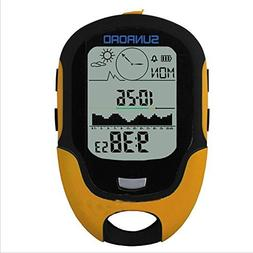 Waterproof LCD Multifunction Digital Compass Barometer Altim